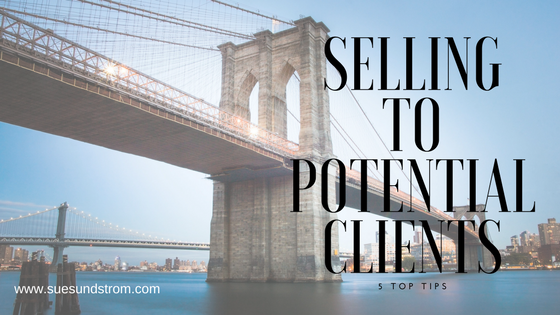 5 Top Tips to selling directly to potential clients