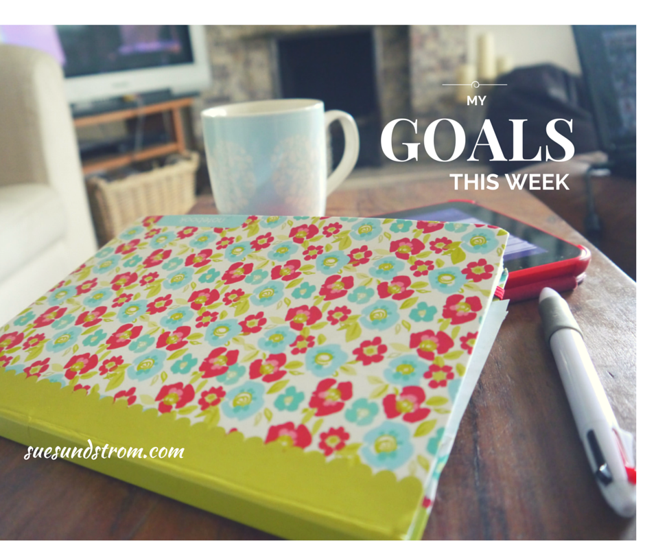 My weekly goals {+ Progress on goals set last week of April '15}