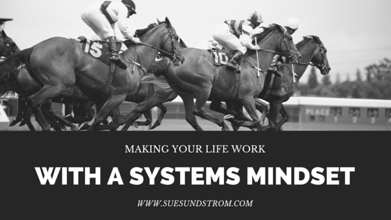 Making your whole life work {with a systems mindset}