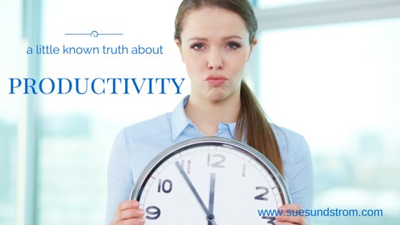 A little known truth about productivity