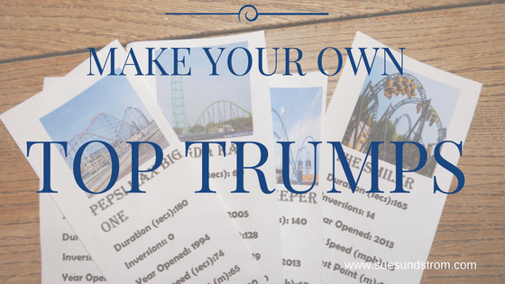 Make your own Top Trumps game