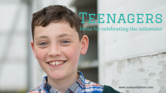 Celebrating a child's transition to a teenager